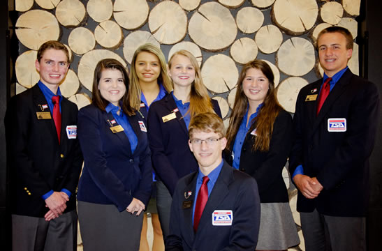 Colorado TSA State Officers for 2015-16